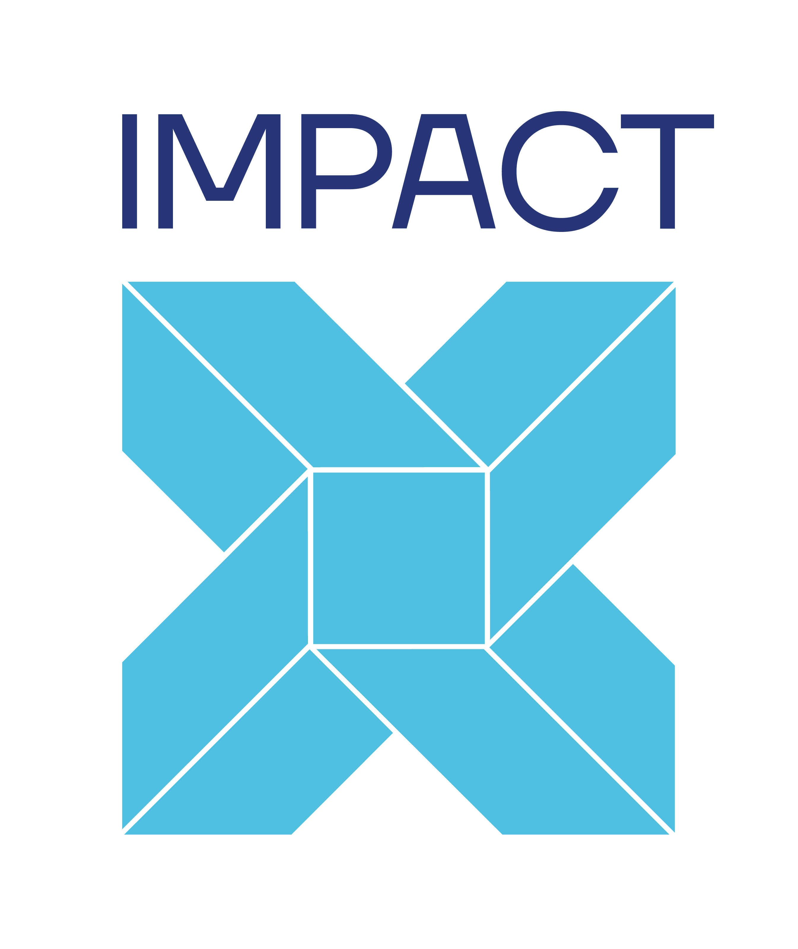 Impact X Logo Square